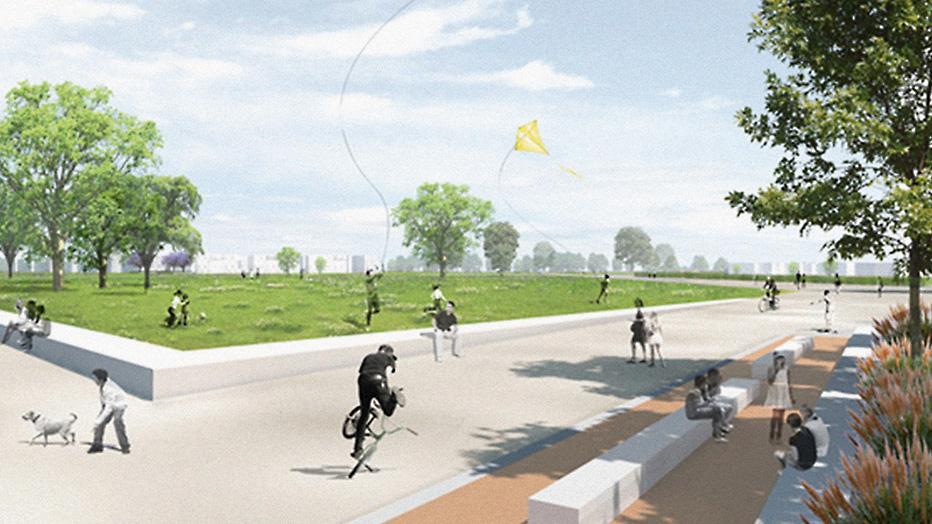 © pesch partner architekten stadtplaner GmbH mit Glück Landschaftsarchitektur