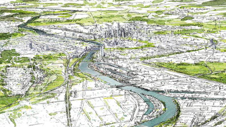 Deckblatt Freiflächenentwicklungsplan © Stadt Frankfurt am Main