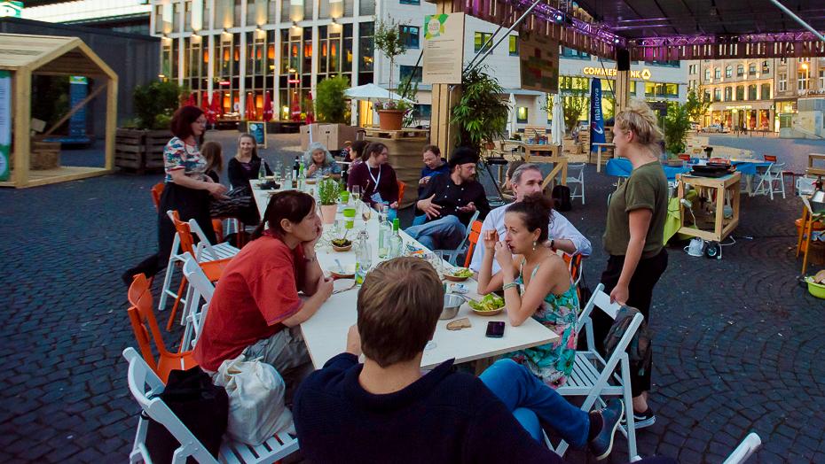 Workshop bei Klima-Piazza 2017, Umweltamt Frankfurt am Mai