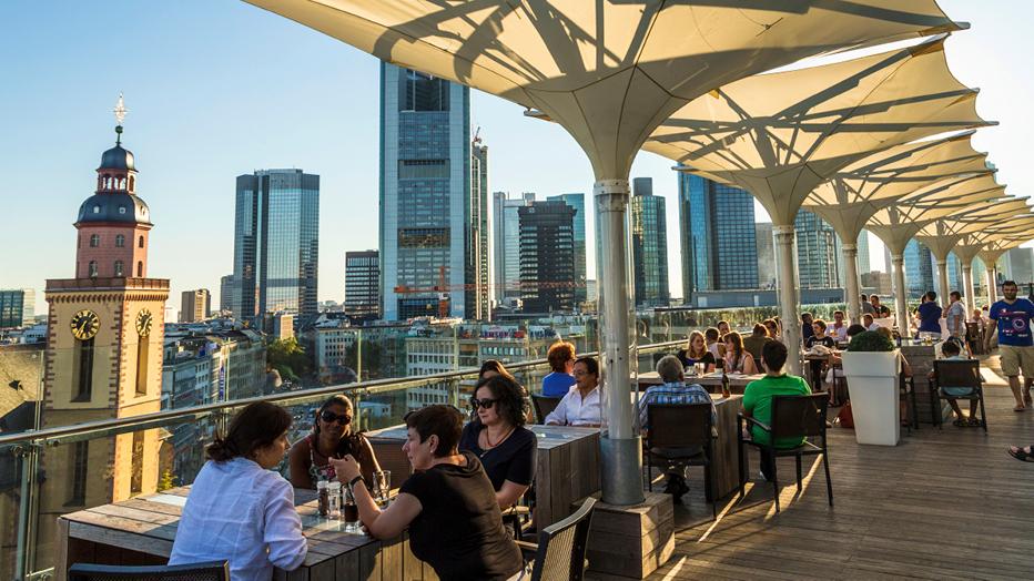 Aussichtsplattform Hauptwache Frankfurt, © iStock
