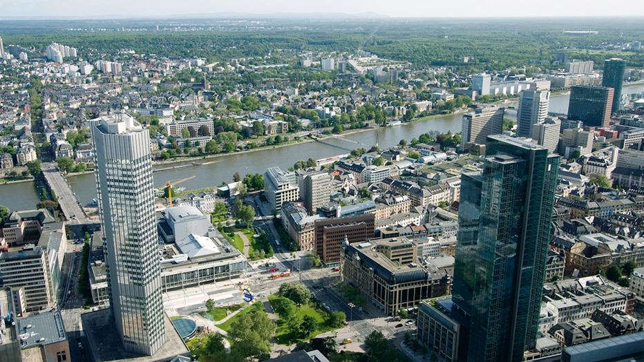 Luftbild Frankfurt: iStockphoto