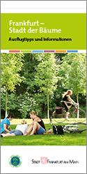 Faltplan Frankfurt Stadt der Bäume